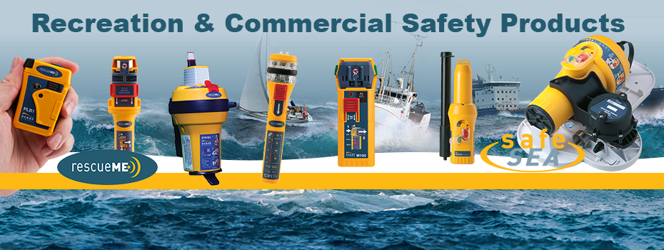 The Ocean Signal range of safety products provides both recreational and commercial mariners with simple to use, compact and affordable lifesaving solutions